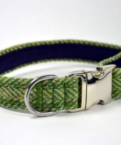 Collier Tweed pour chien de luxe